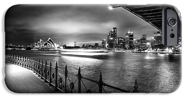 Business iPhone Cases - Sydney Harbour Ferries iPhone Case by Az Jackson