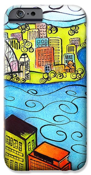 Sydney Harbour  iPhone Case by Oiyee  At Oystudio
