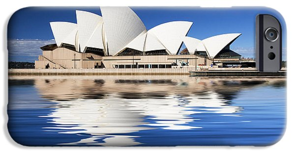 House iPhone Cases - Sydney Icon iPhone Case by Sheila Smart