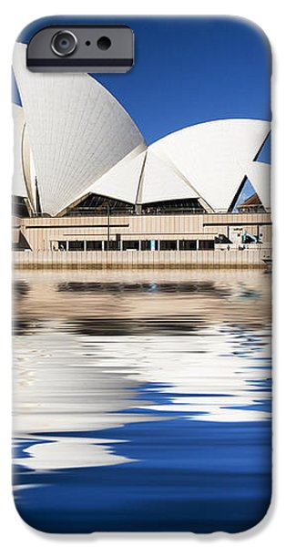 Sydney Icon iPhone Case by Sheila Smart