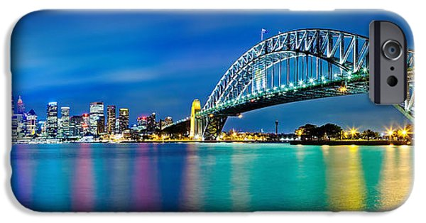 Business iPhone Cases - Sydney Icons iPhone Case by Az Jackson