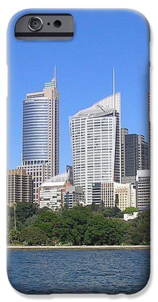 Sydney Skyline iPhone Case by Simon Alvinge