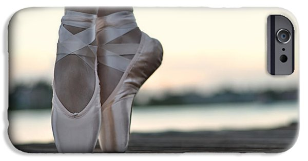 Ballet Dancers Photographs iPhone Cases - Sylph iPhone Case by Laura  Fasulo