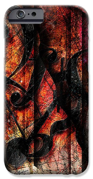 Piano iPhone Cases - Symblz iPhone Case by Gary Bodnar