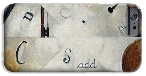Sheets iPhone Cases - Symphony, 1915 Oil On Canvas iPhone Case by Michail Ivanovich Menkov