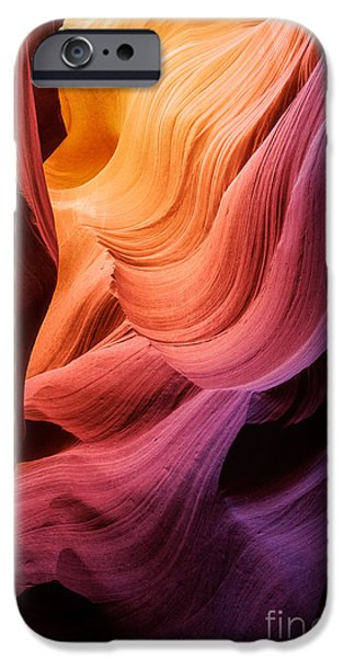 Drama iPhone Cases - Symphony in Stone iPhone Case by Inge Johnsson