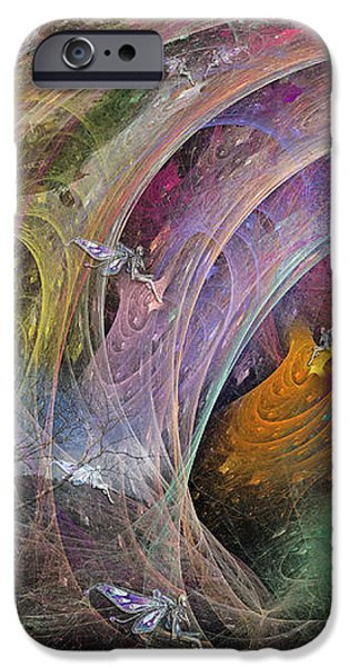 Synchronizing Times iPhone Case by Betsy A  Cutler