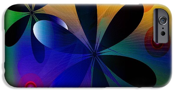 Abstract Sculptures iPhone Cases - System iPhone Case by Iris Gelbart
