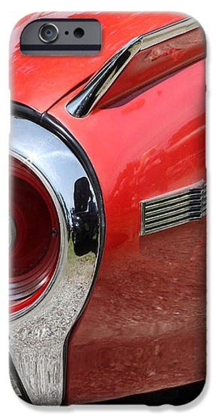 T-Bird Tail iPhone Case by Dennis Hedberg