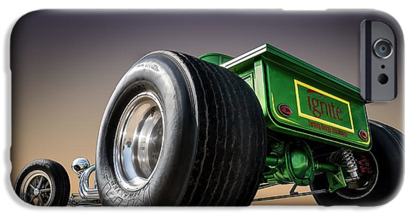 Ford Model T Car iPhone Cases - T Bucket iPhone Case by Douglas Pittman
