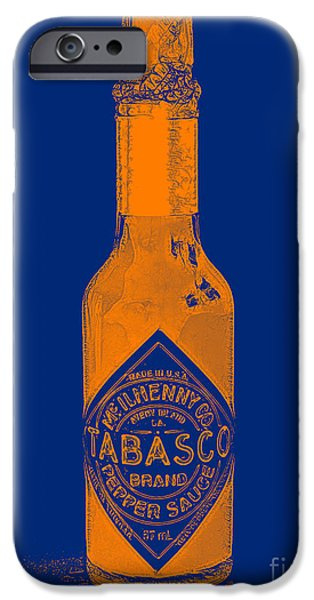 Wing Chee Tong iPhone Cases - Tabasco Sauce 20130402grd2 iPhone Case by Wingsdomain Art and Photography
