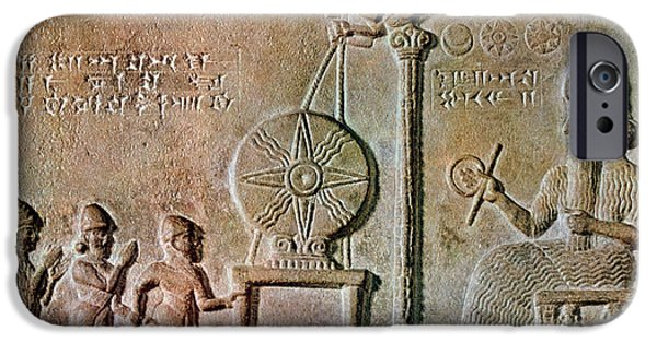 Iraq iPhone Cases - Tablet Of Shamash, 9th Century Bc iPhone Case by Science Source