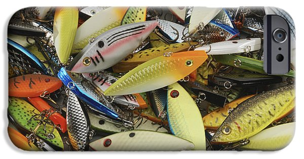 Muskie iPhone Cases - Tackle Box Tangle iPhone Case by Jerry McElroy