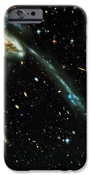 Tadpole Galaxy iPhone Case by The  Vault - Jennifer Rondinelli Reilly
