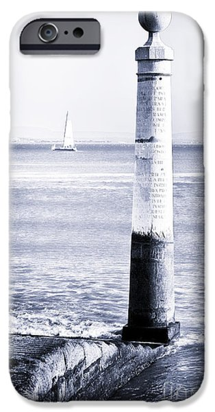 River View iPhone Cases - Tagus River View iPhone Case by John Rizzuto