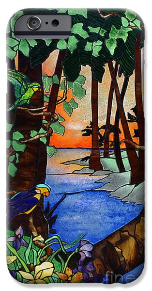 Beach Glass iPhone Cases - Tahiti Window iPhone Case by Peter Piatt