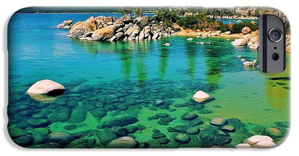 Lake Tahoe iPhone Cases - Tahoe Bliss iPhone Case by Benjamin Yeager