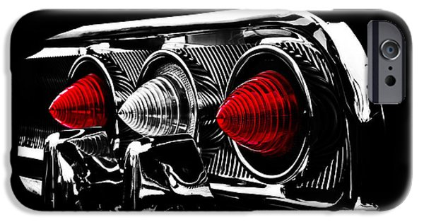 Cars iPhone Cases - Tail Light iPhone Case by Mark Rogan