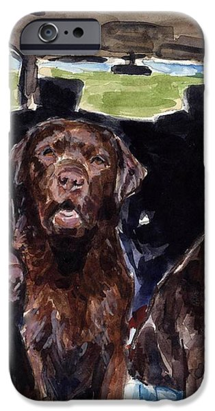Tailgaters iPhone Case by Molly Poole