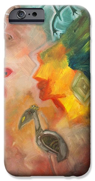 Taino Symbol iPhone Case by Luis Velez