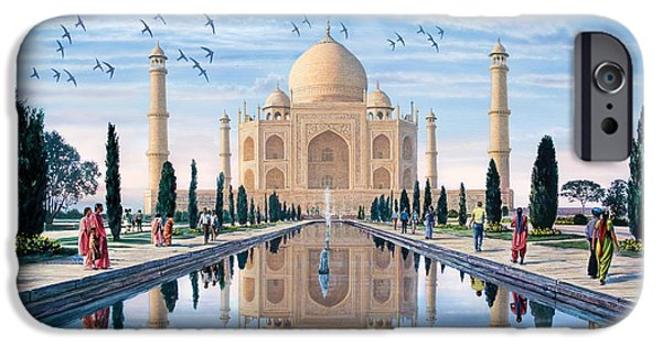Adult iPhone Cases - Taj Mahal iPhone Case by Steve Crisp