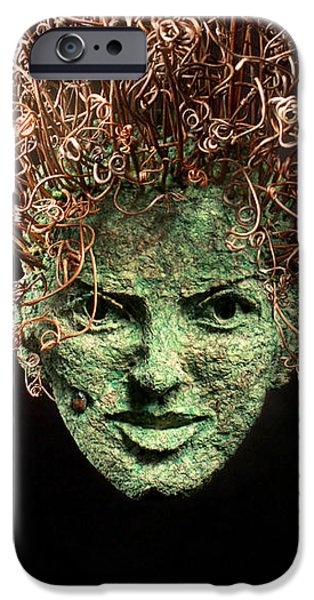 Human Figure Reliefs iPhone Cases - Take a Chance iPhone Case by Adam Long