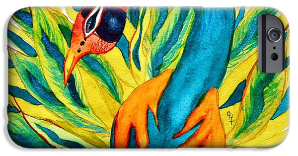 Animation iPhone Cases - Take A Little Leap iPhone Case by Beverley Harper Tinsley