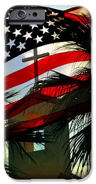 Take Back America iPhone Case by Beverly Guilliams