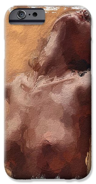 Innocence Mixed Media iPhone Cases - Take me iPhone Case by Stefan Kuhn