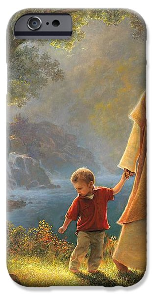 Take My Hand iPhone Case by Greg Olsen