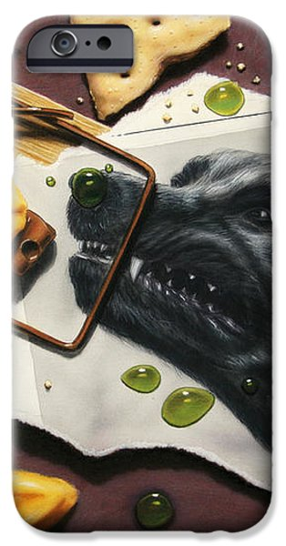 Taking the Bait iPhone Case by James W Johnson