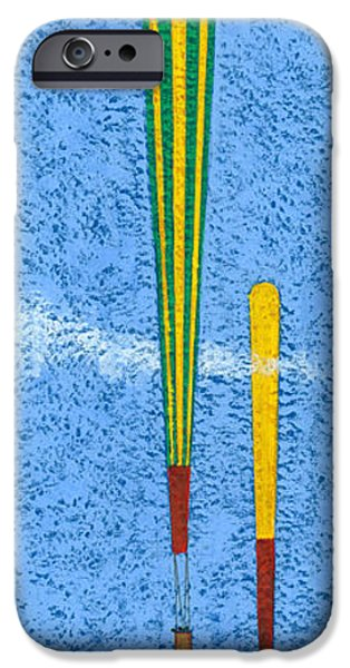 Basket iPhone Cases - Tall Balloons One iPhone Case by Brian James