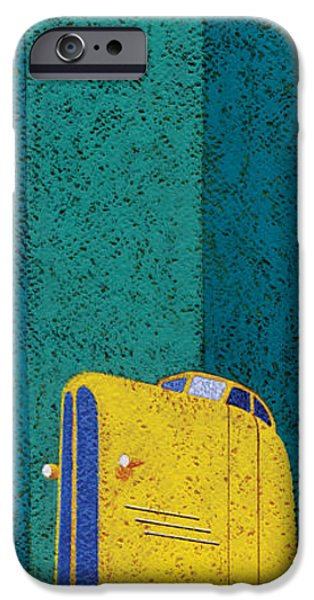 Automotive iPhone Cases - Tall Car iPhone Case by Brian James