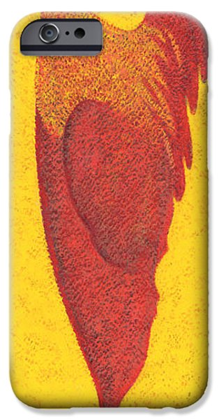 Animals Photographs iPhone Cases - Tall Chicken iPhone Case by Brian James