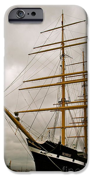 Tall Ship iPhone Cases - Tall iPhone Case by Rick  Monyahan