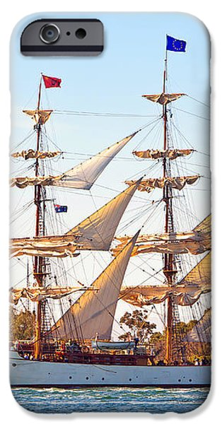 Tall Ship iPhone Case by Bill  Robinson