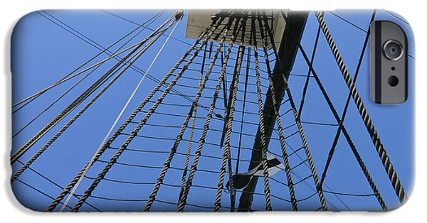 Tall Ship iPhone Cases - Tall Ship III iPhone Case by Mark McKinney