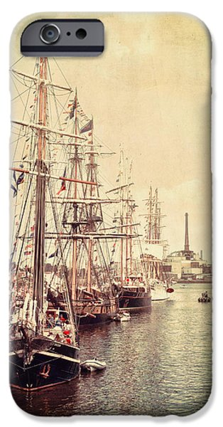 Tall Ship iPhone Cases - Tall Ships iPhone Case by Joel Witmeyer