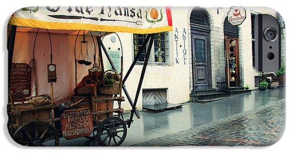 Tallinn iPhone Cases - Tallinn Estonia iPhone Case by Sophie Vigneault