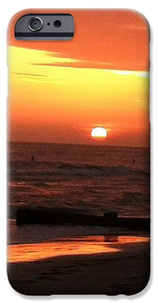 Ocean Sunset Pastels iPhone Cases - Tampa iPhone Case by Bradley Warner