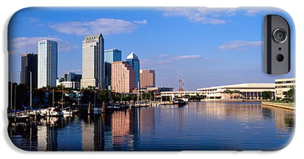 Municipal iPhone Cases - Tampa Fl iPhone Case by Panoramic Images