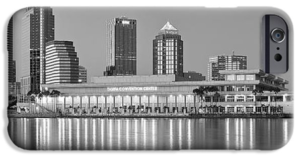 Inner World iPhone Cases - Tampa Panorama iPhone Case by Frozen in Time Fine Art Photography