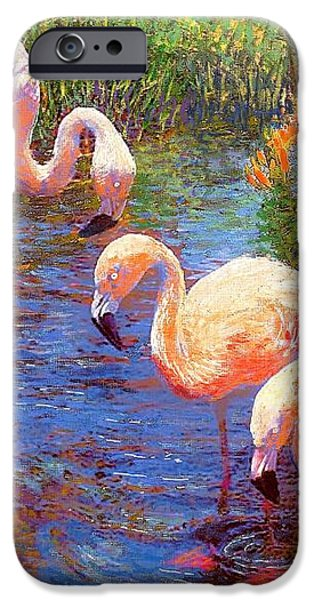 Tangerine Dream iPhone Case by Jane Small