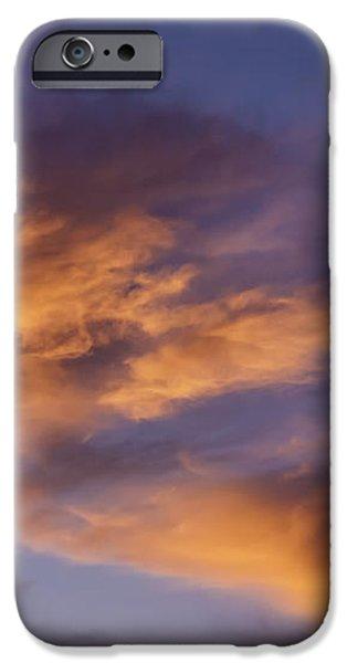 Tangerine Swirl iPhone Case by Caitlyn  Grasso