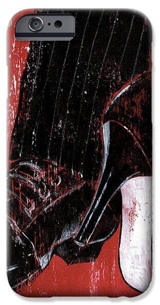 Tango iPhone Case by Debbie DeWitt