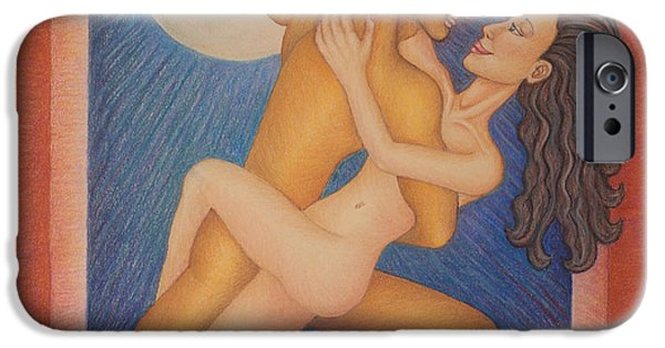 Recently Sold -  - Pastel iPhone Cases - Tango Desnudo iPhone Case by Claudia Cox