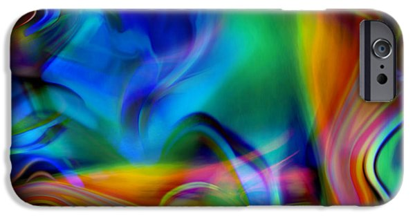 Kyle Wood iPhone Cases - Tantalizing Fish Frolic iPhone Case by Kyle Wood