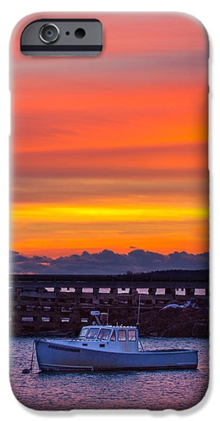 Bailey Island iPhone Cases - Tapestry iPhone Case by Benjamin Williamson
