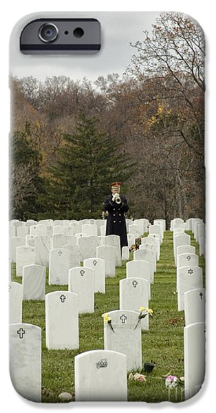 Headstones iPhone Cases - Taps iPhone Case by Terry Rowe