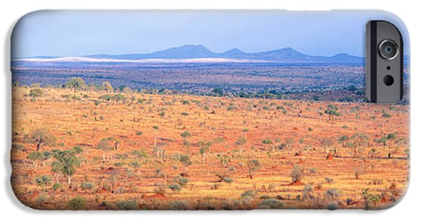 Tarangire iPhone Cases - Tarangire Park, Tanzania, Africa iPhone Case by Panoramic Images